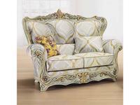 Morello Gianpaolo: диван Savoia 2-х местный  ткань TRR42618