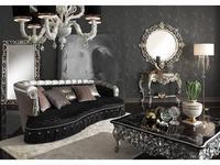 Morello Gianpaolo: Beatrice: диван 3-х местный  ткань