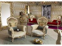 Morello Gianpaolo: Paradise: кресло  (ткань)