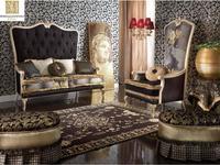 Morello Gianpaolo: Grand Suite: диван 2-х местный  (ткань)