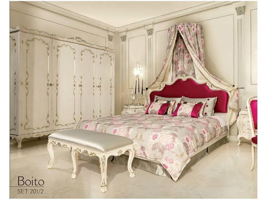 Angelo Cappellini: Boito: кровать 180х200  (WTA\ тк. TX4327\1 cat.D)