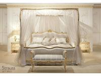 5104665 кровать двуспальная Angelo Cappellini: Strauss