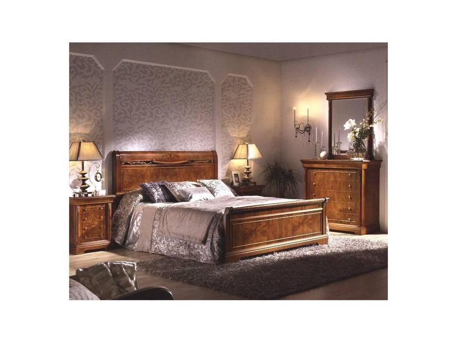 Monrabal Chirivella: Дезире: кровать 160х200  (fresno olivato)