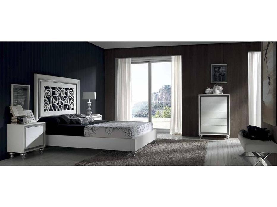 Monrabal Chirivella: Альба: кровать 180х200  (белый)
