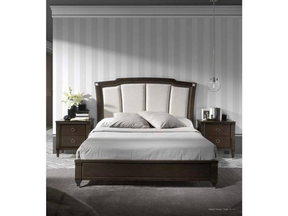 Monrabal Chirivella: Titanic: кровать 150х200  (темный дуб)