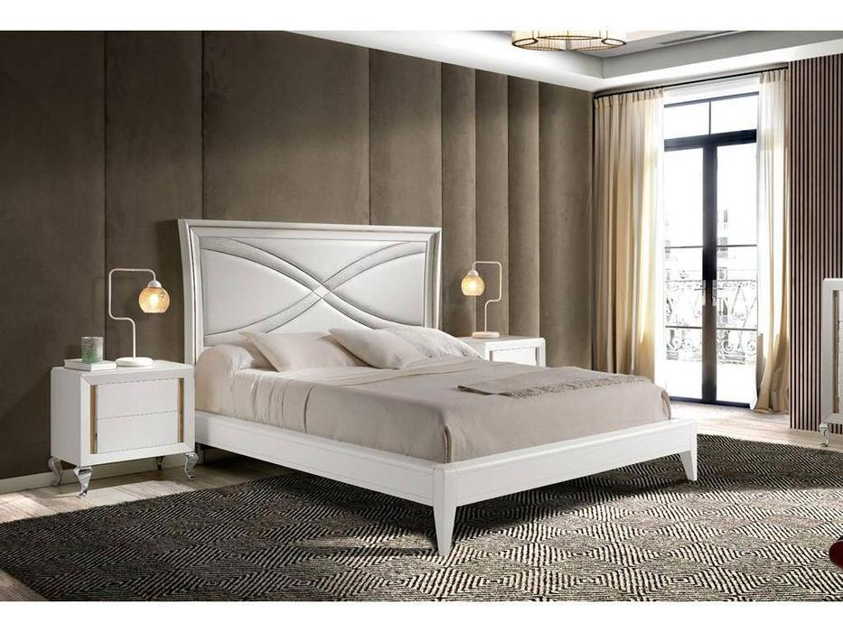 Monrabal Chirivella: Nicol: кровать 180х200 (белый)