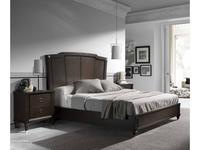 Monrabal Chirivella: Titanic: кровать 180х200  (темный дуб)