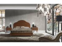 Monrabal Chirivella: Valeria: кровать Paris 180х200 (черешя)