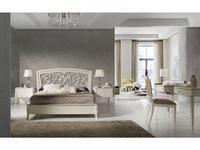 Monrabal Chirivella: Valeria: кровать Toscana 160х200  (белый)