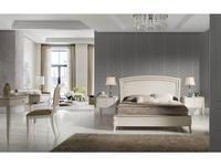 Monrabal Chirivella: Valeria: кровать Toscana 180х200   (белый)