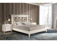 Monrabal Chirivella: Nicol: кровать 160х200 (дуб, лино)