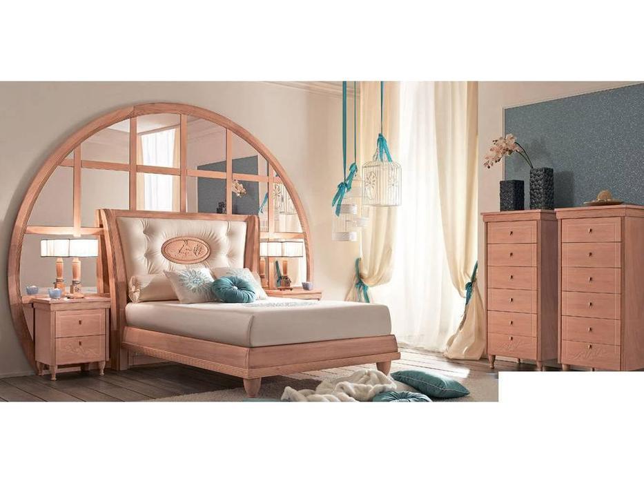 Caroti: кровать Онда  (розовый)