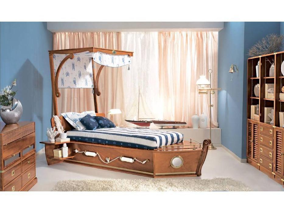 Caroti: кровать Калафурия  (натуральный светлый)