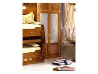 Caroti: шкаф 2-х дверный  (натуральный светлый)