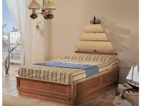 Caroti: Галеон: кровать детская Галеон   (натуральный светлый)
