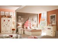 Caroti: Галеон: кровать детская  Галеон (белый)