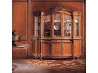 Angelo Cappellini: Pannini: витрина 5 дверная  (орех)