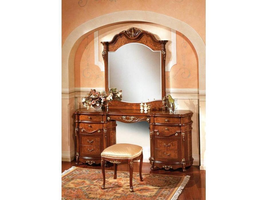 Grilli Грилли: Треви: стол туалетный с зеркалом  (шпон орех, клен, ясен)