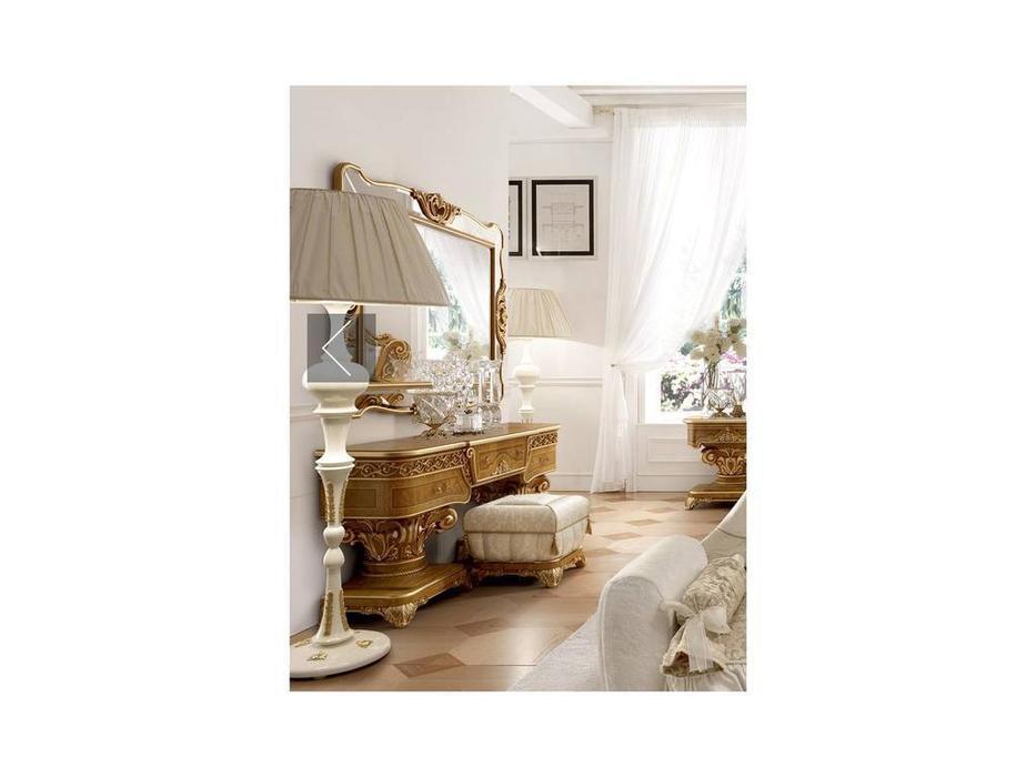 Grilli: Империале: стол туалетный  (орех, золото)