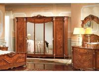 Grilli Грилли: Треви: шкаф 5 дв с зеркалами  (шпон орех, клен, ясен)