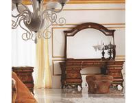 Grilli Грилли: Рондо: стол туалетный  (орех, позолота)