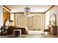 Grilli Грилли: Рондо: шкаф 2-х дверный  инкрустация (слоновая кость)