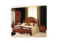 Grilli Грилли: Рондо: кровать 180x200 King  с изножьем (орех, позолота)