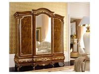 Grilli Грилли: Версаллес: шкаф 3-х дверный, 1 зеркало  (орех, позолота)