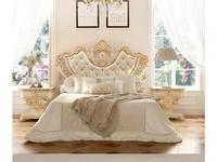Grilli: Империале: кровать  180х200 (слоновая кость, золото)