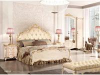 Grilli: Doge: кровать 180х205  (слоновая кость, золото)