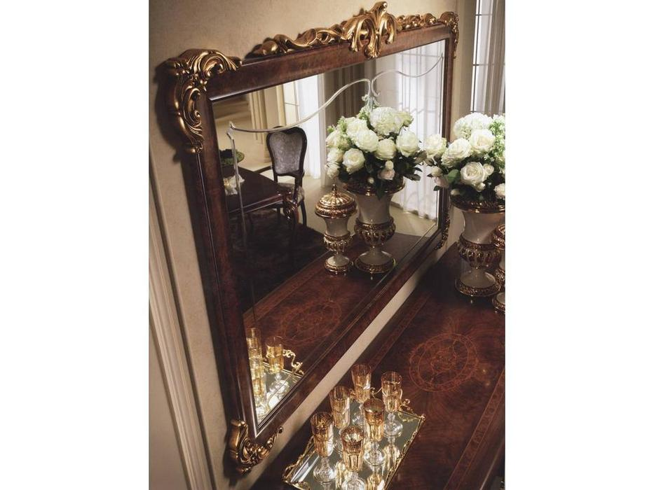 Arredo Classic: Donatello: зеркало для прилавка 4-х дв. (орех)