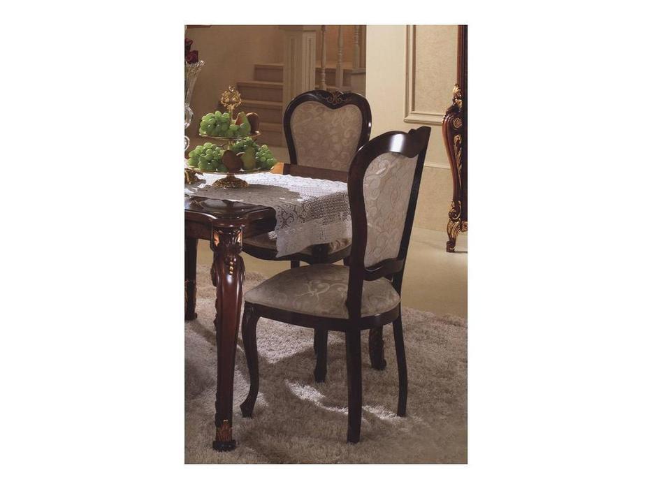 Arredo Classic: Donatello: стул ткань cat. B (орех)