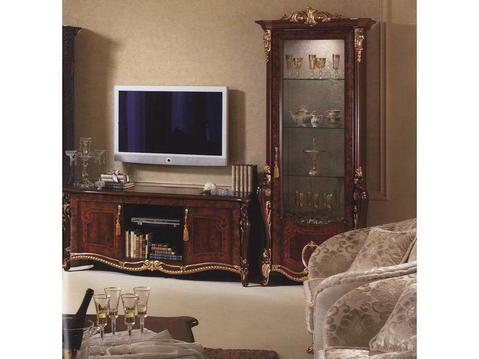 Arredo Classic: Donatello: тумба под телевизор (орех)