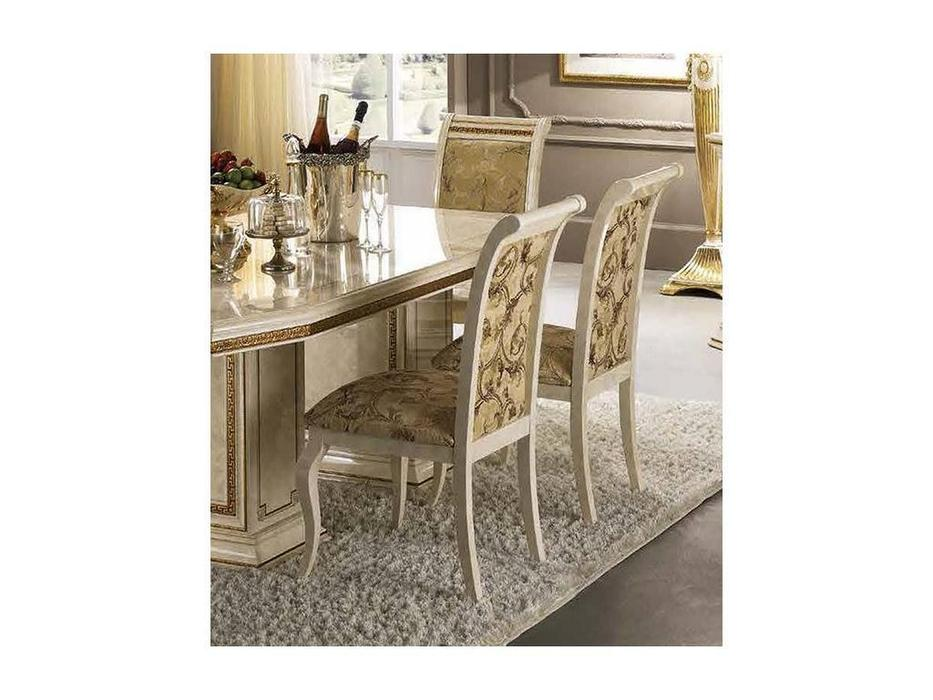Arredo Classic: Leonardo: стул (белый, ткань С)