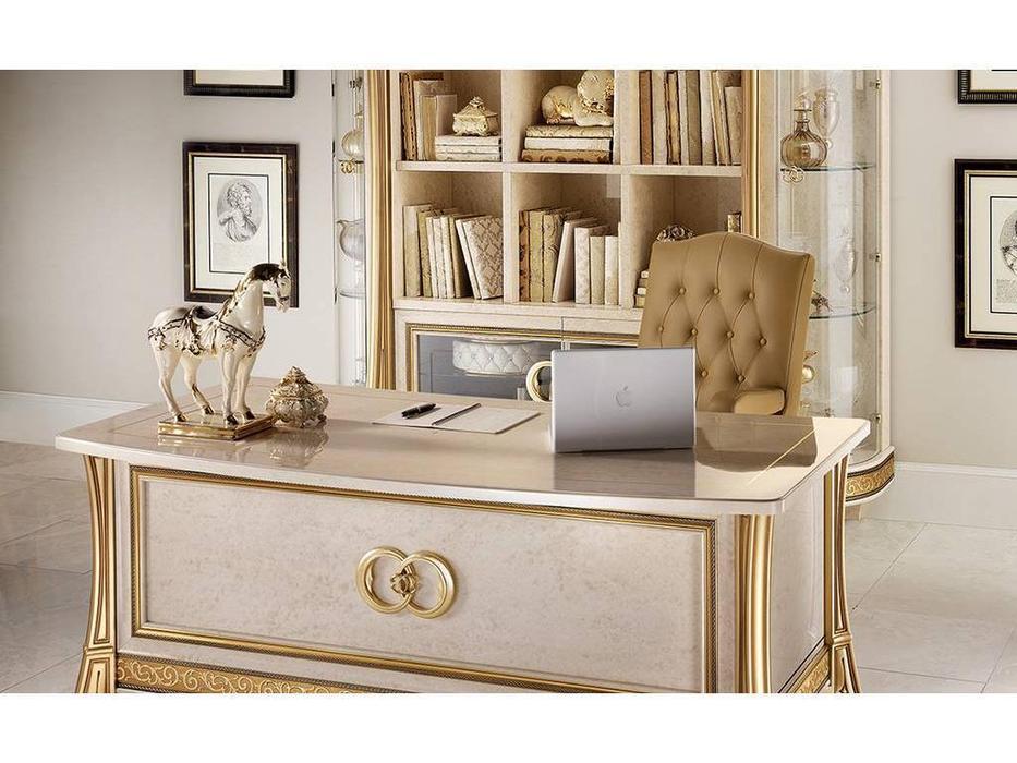 Arredo Classic: Melodia: стол письменный (слоновая кость)