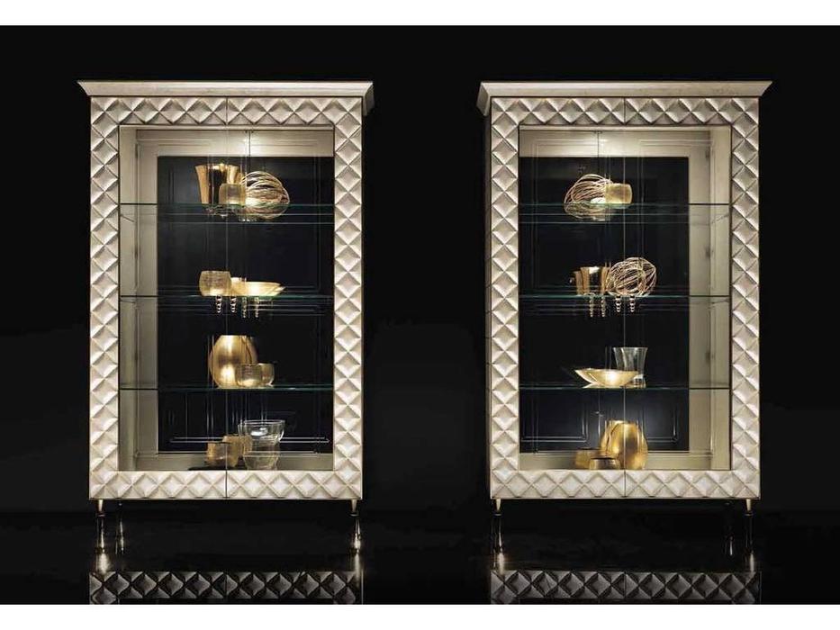 Arredo Classic: Sipario: витрина 2-х дверная (слоновая кость)