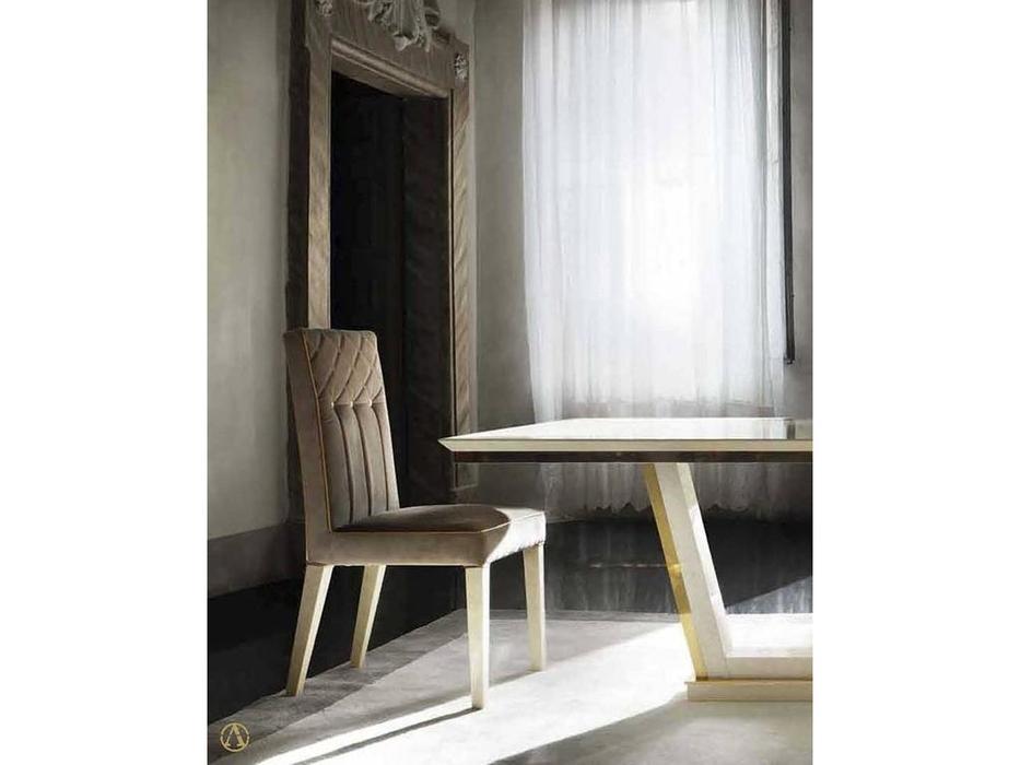 Arredo Classic: Sipario: стул E (слоновая кость, бархат золото)