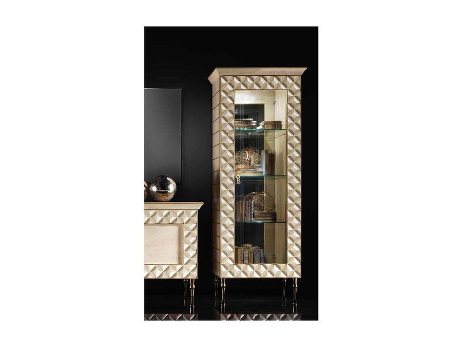 Arredo Classic: Sipario: витрина 1 дверная правая (слоновая кость)