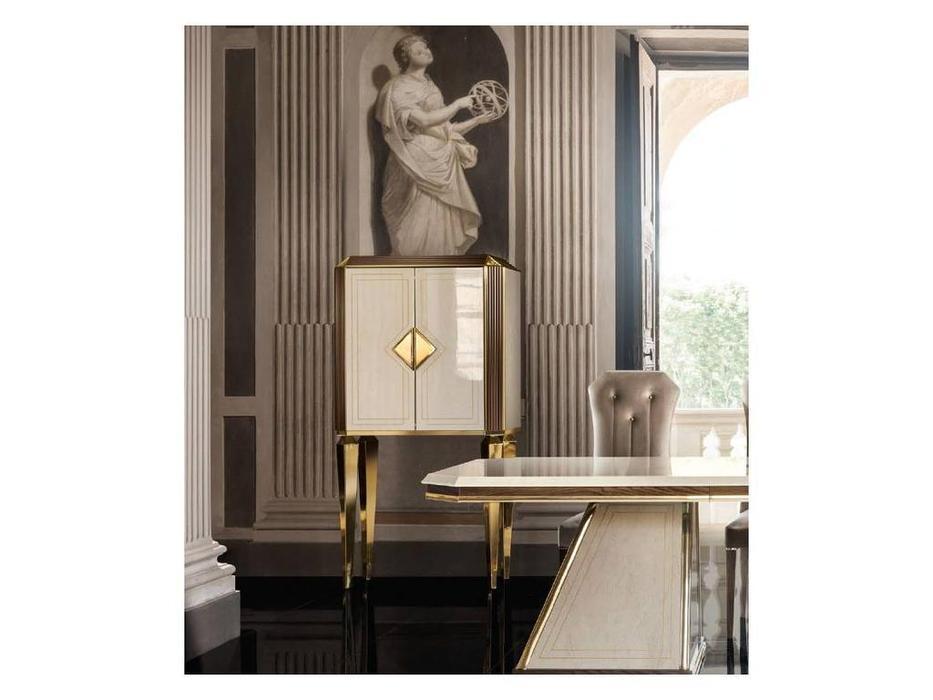 Arredo Classic: Diamante: витрина малая (слоновая кость, вяз, золото)