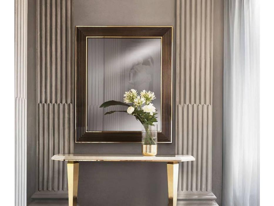 Arredo Classic: Diamante: зеркало малое (слоновая кость, вяз, золото)