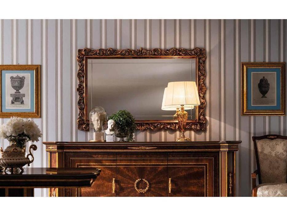 Arredo Classic: Modigliani: зеркало настенное  большое (орех)