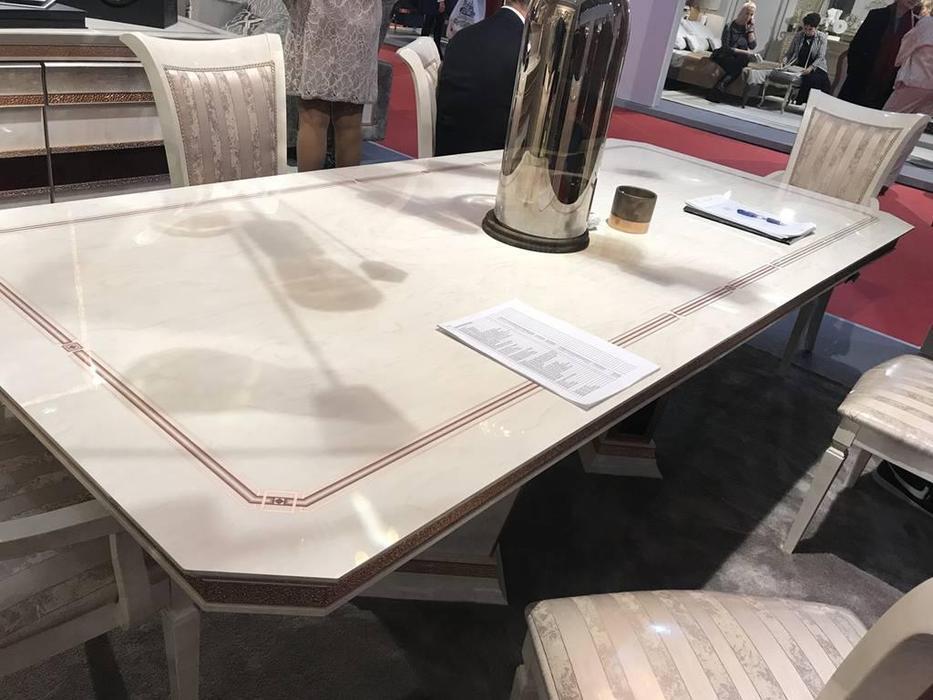 Arredo Classic: Dolce Vita: стол обеденный 200х110 (слоновая кость)