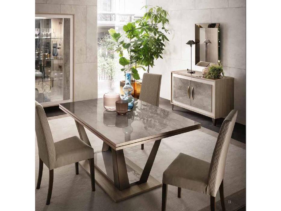 Arredo Classic: Ambra: стол обеденный 160 (вяз светлый)
