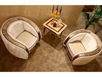 Arredo Classic: Rossini: стол под лампу (слоновая кость, орех, золото)