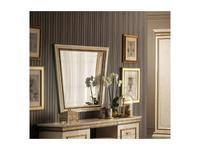 Arredo Classic: Fantasia: зеркало настенное (слоновая кость, золото)