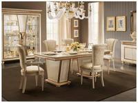 Arredo Classic: Fantasia: стол обеденный 200см (слоновая кость, золото)