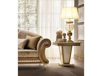 Arredo Classic: Fantasia: стол кофейный (слоновая кость, золото)