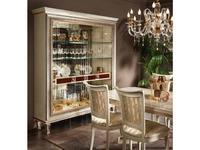 Arredo Classic: Dolce Vita: витрина 3-х дверная (слоновая кость)