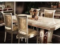 Arredo Classic: Dolce Vita: стол обеденный раскладной 200/250/300 (слоновая кость)