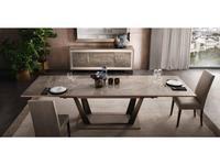 Arredo Classic: Ambra: стол обеденный раскладной (вяз светлый)